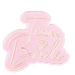 Team Bride Iron On Patches
