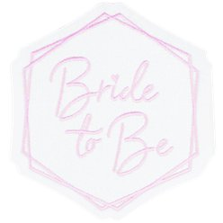 Bride To Be Iron On Patch