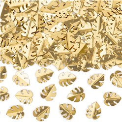 Gold Palm Leaves Confetti - 15g Bag