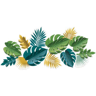 Tropical Decorative Leaves