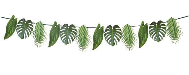 Tropical Fiesta Palm Garland - 1.5m