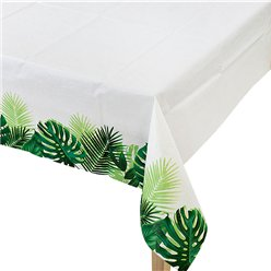 Tropical Fiesta Palm Table Cover - 1.2m x 1.8m Paper Table Cover