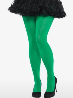 Green Tights - Adult Plus Size