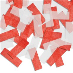 Red and White Piñata Confetti
