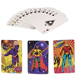 Super Hero Mini Playing Cards