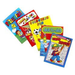 Activity Books - Assorted Designs