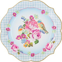 Vintage Tea Party Serving Plates - 30cm