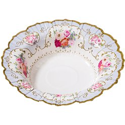 Vintage Tea Party Bowls - 19cm