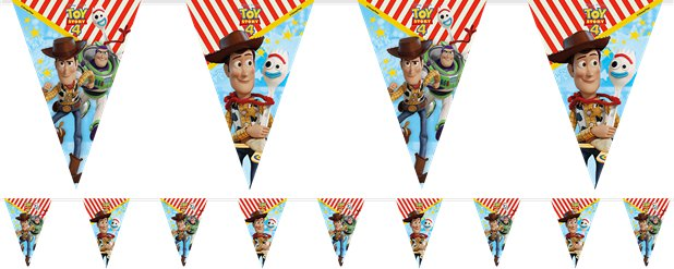Toy Story 4 Flag Bunting