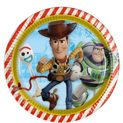 Toy Story 4 Paper Plates - 23cm