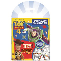 Toy Story 4 Carry Along Colouring Set