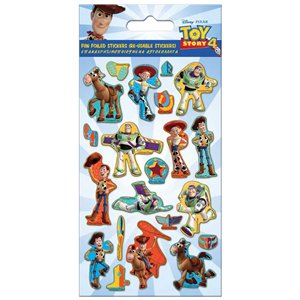 Toy Story 4 Foiled Sticker Set
