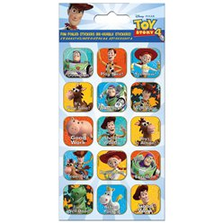 Toy Story 4 Foiled Caption Stickers