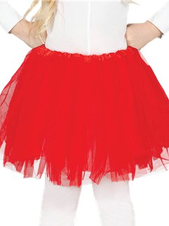 Red Tutu - Child One Size