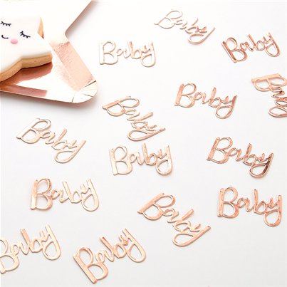 Twinkle Twinkle Baby Rose Gold Table Confetti - 14g