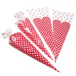 Heart Cone Cello Bags - 38cm