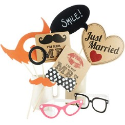 A Vintage Affair Wedding Photo Booth Props