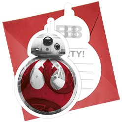 Star Wars: The Last Jedi Party Invitations