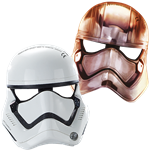 Star Wars: The Last Jedi Masks