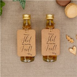 Hearts & Krafts Have A Shot Mini Bottle Tags