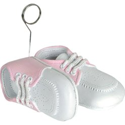 Pink Baby Shoes Balloon Weight - 170g