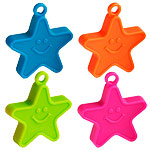 Neon Star Balloon Weights - 100g