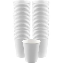 White Cups - 340ml Paper Coffee Cups