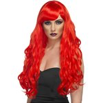 Desire Long Curly Wig - Red