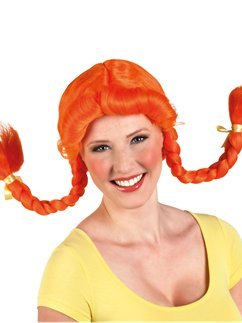 Pippi Longstocking Wig