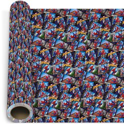 Spider-Man Wrapping Paper Roll - 2m