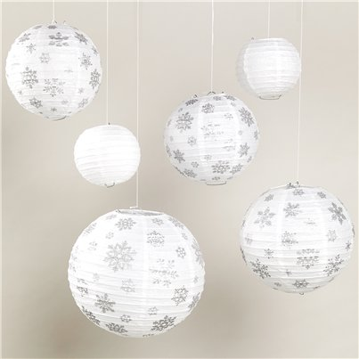Winter Icon Paper Lanterns - 30cm