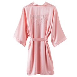 Blush Pink Brides Besties Hen Party Dressing Gown