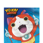 Yo-Kai Watch Paper Napkins - 33cm