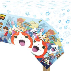 Yo-Kai Watch Plastic Tablecover - 1.2m x 1.8m
