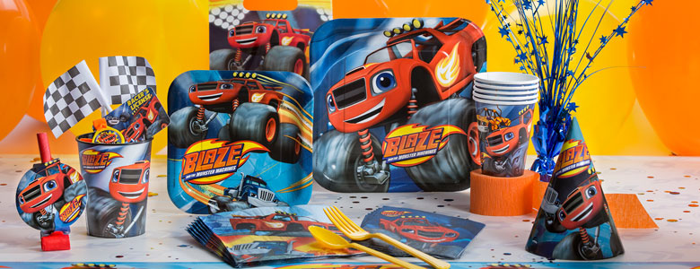 Blaze and the Monster Machines Party Supplies