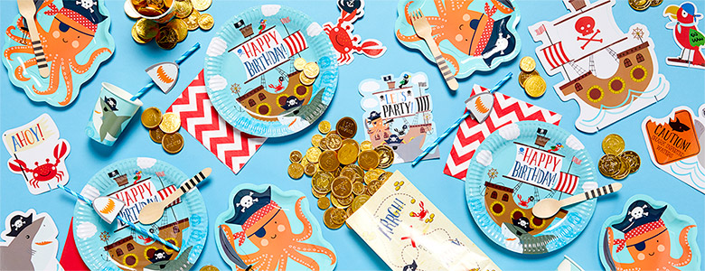 Ahoy Birthday Party Supplies