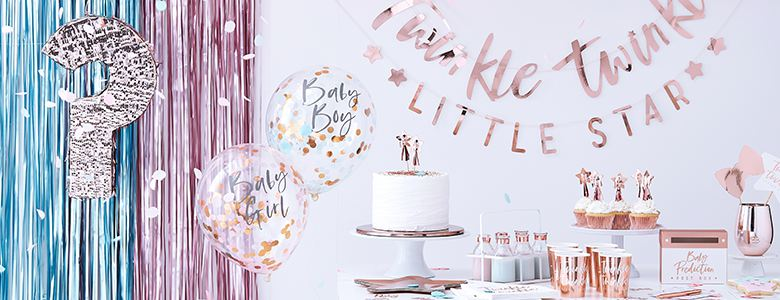 Twinkle Twinkle Baby Party Supplies