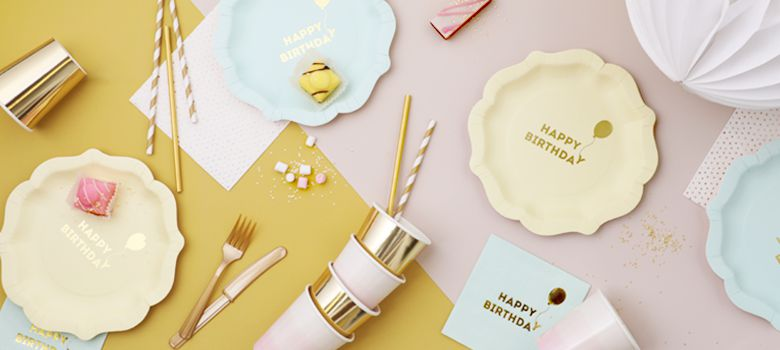We Heart Birthdays Party Supplies