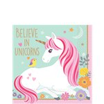 Magical Unicorn Beverage Napkins