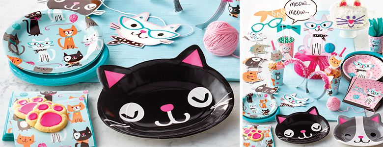 Purr-fect Party Supplies