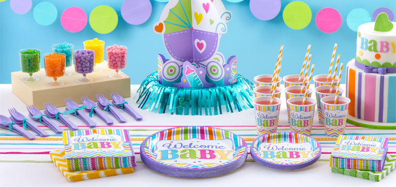 Baby Brights Party Supplies