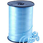 Pale Blue Curling Balloon Ribbon - 500m