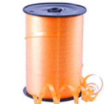 Tangerine Curling Balloon Ribbon - 500m