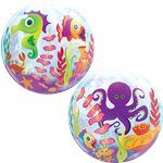 Fun Sea Creatures Bubble Balloon - 22""