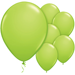 Lime Green Balloons - 11
