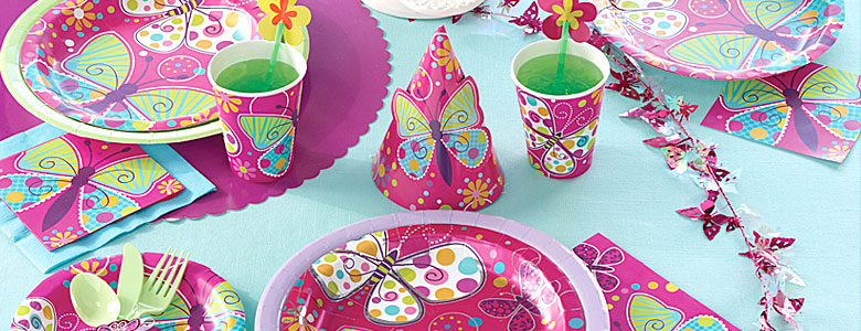 Butterfly Sparkle Party Supplies