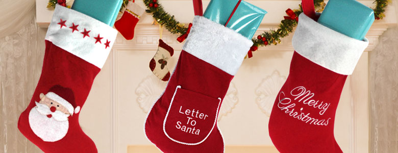 Christmas Stockings & Sacks