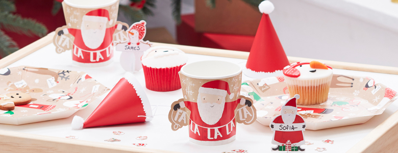 Santa and Friends Party Supplies