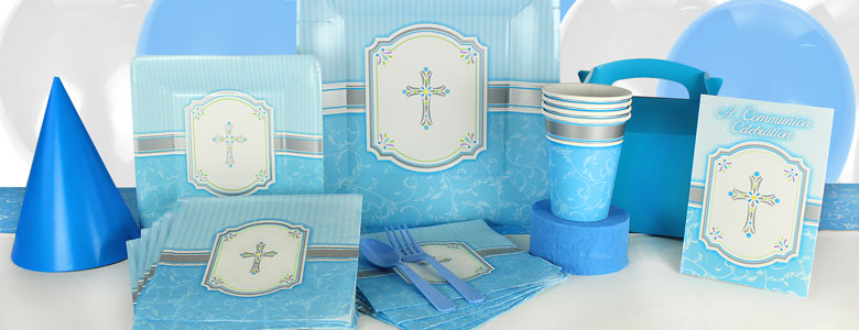 Communion Blessings Blue