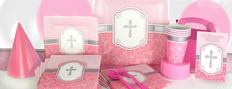 Communion Blessings Pink Party